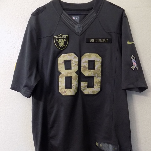 266b0a4ce Raiders NFL salute to service Amari Cooper Jersey.  M 5acaa5a85512fd645d764f4c. Other Shirts you may like. Nike ...